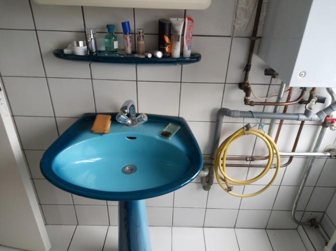 Wasbak 1 Meter : Wasbak met bovenkast verwijderen en wastafelmeubel wasbak kraan