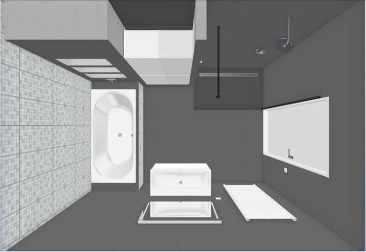 Badkamer plaatsen 3,28 x 2,50 meter nieuwbouw Zoetermeer - Werkspot