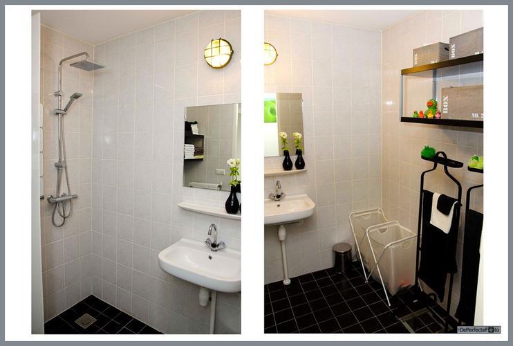 Badkamer/aparte toilet renoveren: oude tegels verwijderen, betegele ...