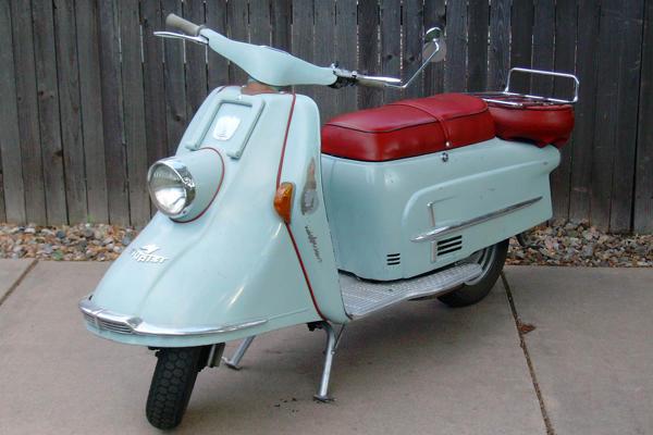 Wonderbaar spuiten metalen delen oldtimer scooter - Werkspot EH-71