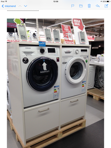 Wasmachinedroger Kast Ombouw Maken Werkspot