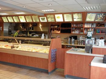 cafetaria interieur maken - Werkspot