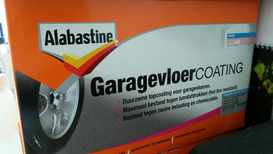 Alabastine garagevloer coating prijs hoe breng je een epoxy vloer
