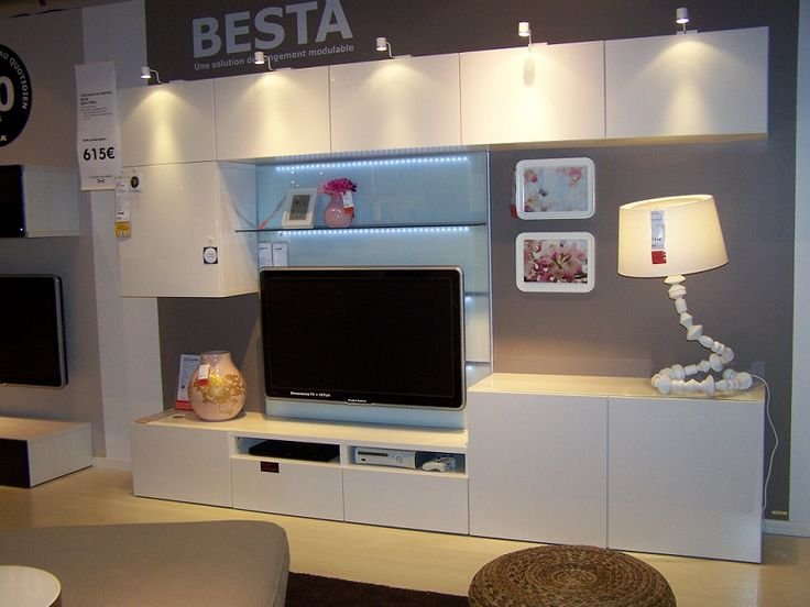 ikea besta tv meubel monteren en ophangen werkspot. Black Bedroom Furniture Sets. Home Design Ideas
