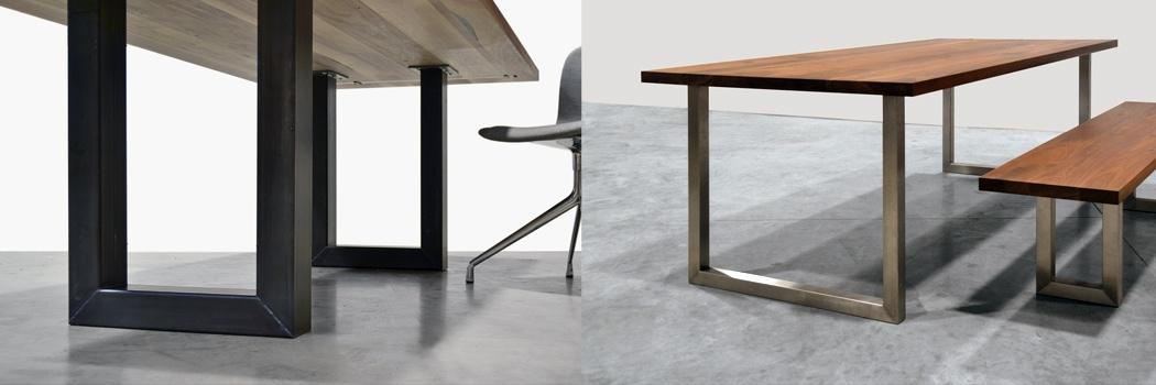 Stalen frame maken werkspot for Stalen onderstel tafel laten maken