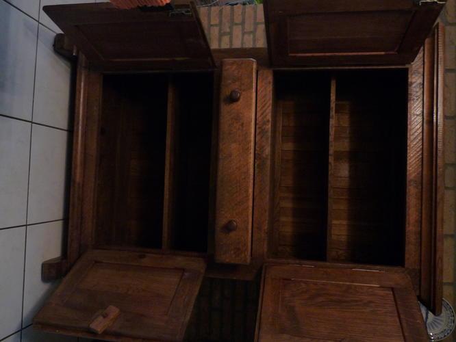 Oude Houten Kast : Oude houten kast schilderen naar industriele ibiza look werkspot