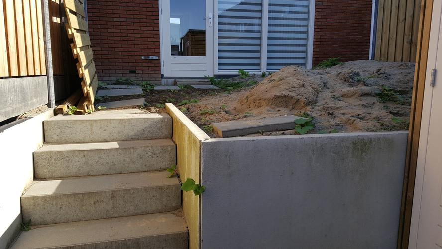 Aanleg kleine eenvoudige tuin werkspot for Aanleg kleine tuin