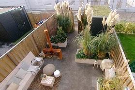 Ontwerp tuin van ongeveer 9 bij 6 meter en uitvoering for Tuin uittekenen