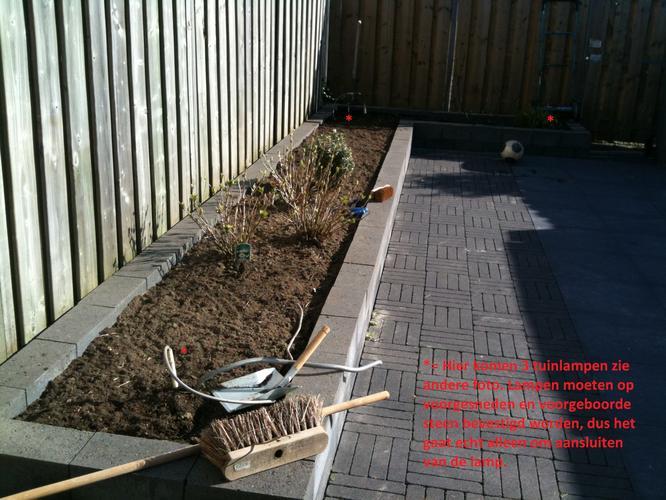 Tuinverlichting In Tegel : Tuinverlichting aansluiten werkspot