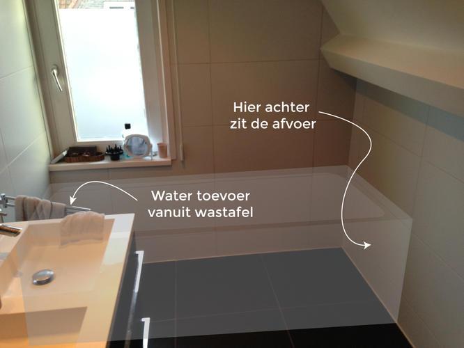Bad plaatsen in bestaande badkamer - Werkspot
