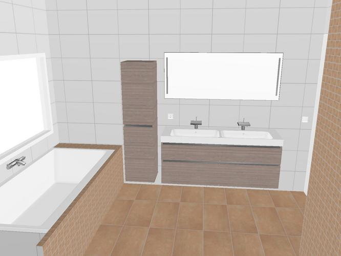 ophangen badmeubels en douchewand plaatsen werkspot