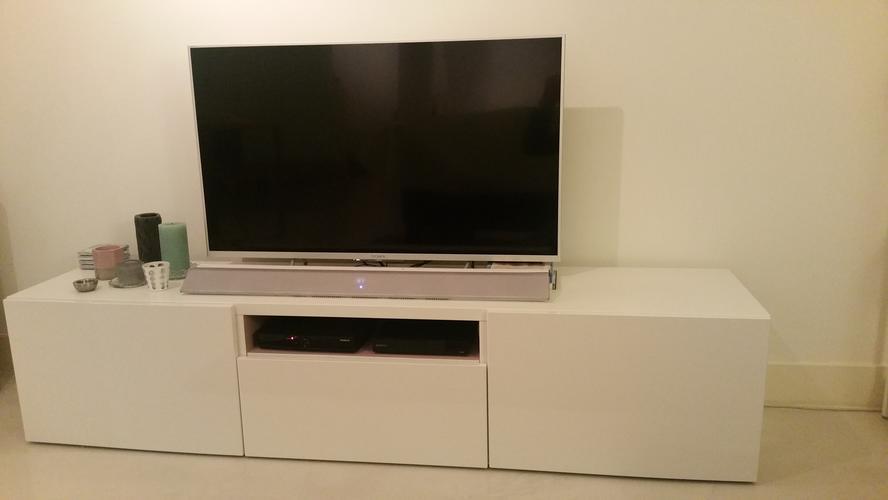 Besta Tv Meubel Kast.Houten Onderstel Maken Voor Ikea Besta Tv Meubel Werkspot