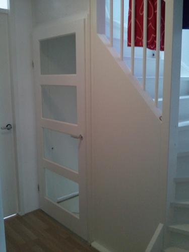 Deuren plaatsen voor open trap werkspot for Plaatsen trap