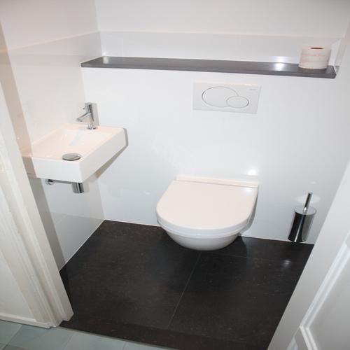 Renoveren doucheruimte en toilet leggen castello tegels in hal gang werkspot - Tegels voor wc ...
