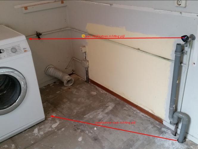 Verplaatsen Afvoer Wasmachine Werkspot