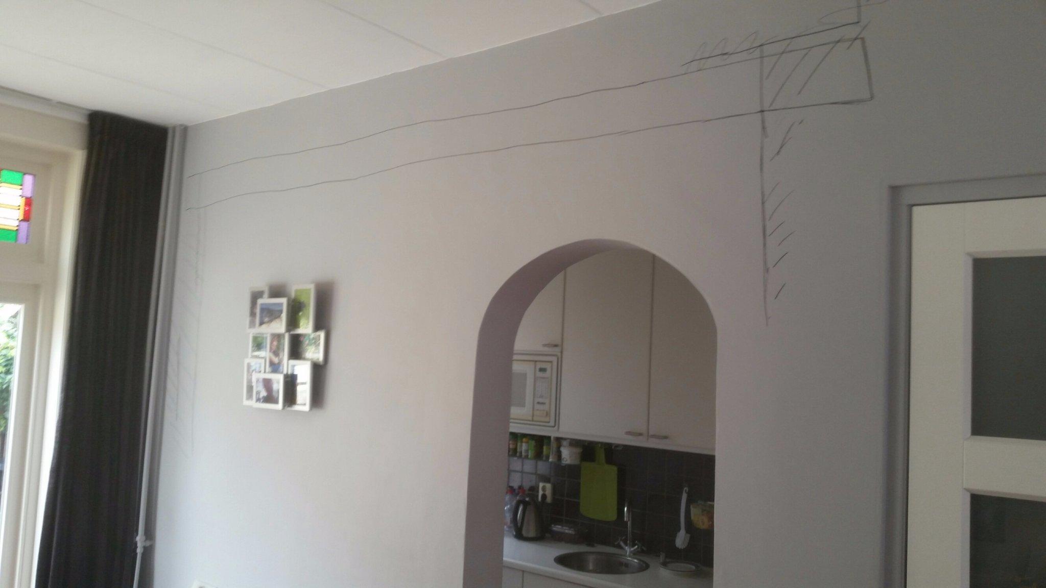 Draagmuur keuken woonkamer verwijderen werkspot