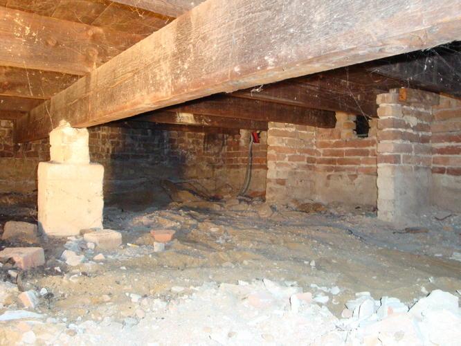 Houten vloer in kruipruimte isoleren ruim 15 m2 te velp for Houten vloer isoleren