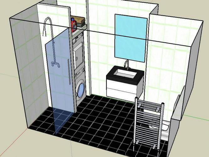 Best Wasmachine In Badkamer Aansluiten Pictures - House Design Ideas ...