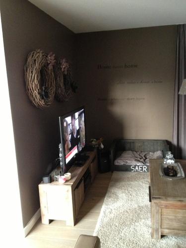 Gashaard in l vormige woonkamer - Werkspot