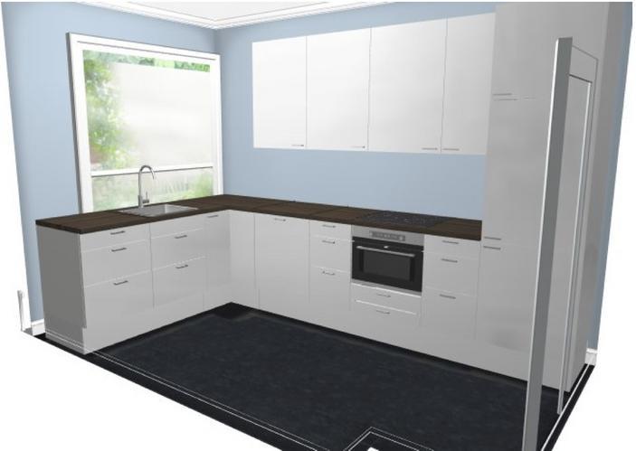 Ikea keukenkast afmetingen for Zelf keuken tekenen
