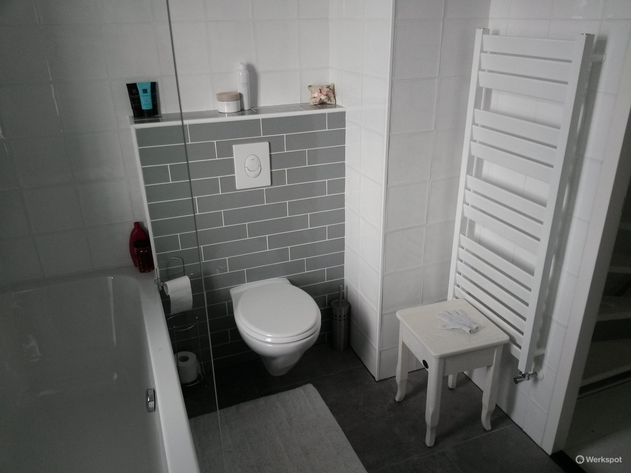 Badkamer En Toilet : Spijkenisse nieuwbouw badkamer en toilet bij menno priscilla