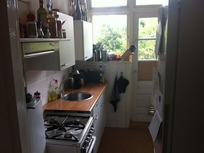 Kleine keuken in appartement verbouwen werkspot - Keuken kleine ruimte ...