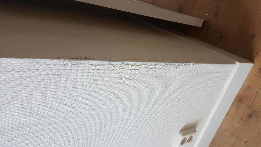 Glasvezelbehang repareren op 4 plekken ca 1m2 bij elkaar for Glasvezelbehang sauzen