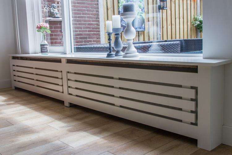 Landelijke radiatorombouw werkspot for Vensterbank praxis