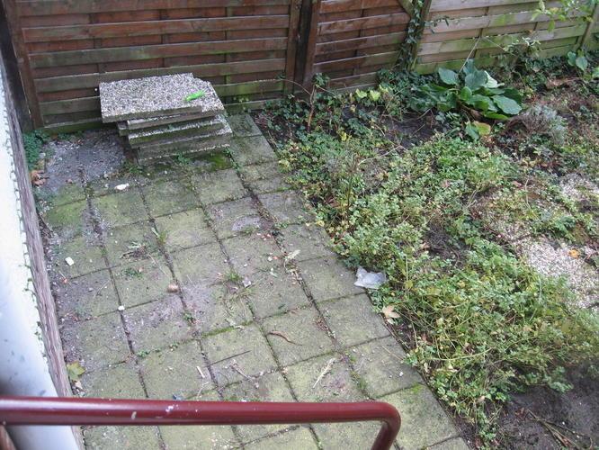 Tegels Leggen Tuin : Advies over inrichting tuin en m tegels opnieuw leggen