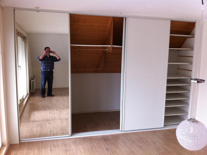 2 garderobe kasten (slaapkamer + hal) - werkspot, Deco ideeën