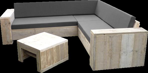 Kussens voor loungeset werkspot for Loungeset steigerhout zelf maken