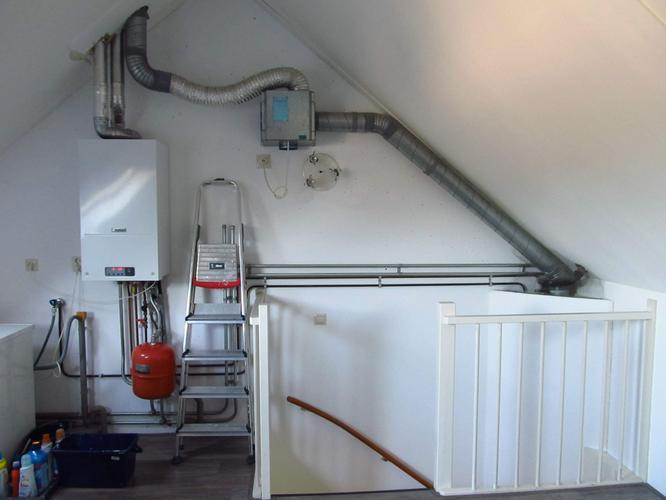 Mechanische Ventilatie Douche