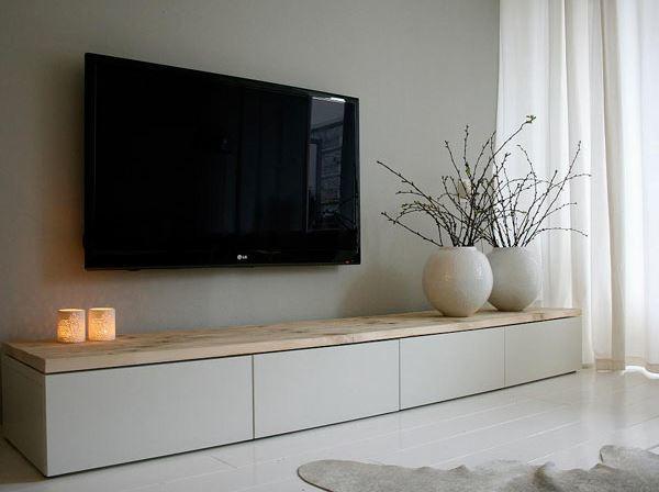 Tv Meubel Plank.Houten Plank 2 40 X 40 Cm Voor Tv Meubel Werkspot