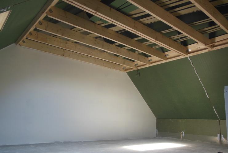 vliering maken op zolder  meerdere nieuwbouw woningen in