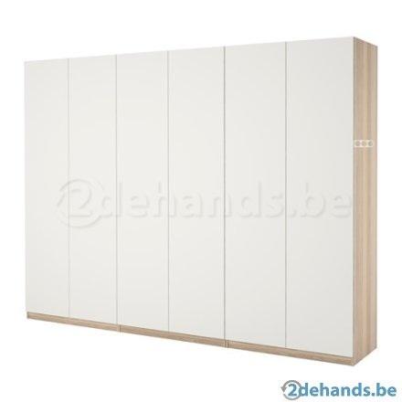 Ikea Kast Pax Deuren Mat Grijs Werkspot