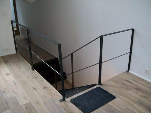 Stalen balustrade op maat maken werkspot for Stalen trap maken
