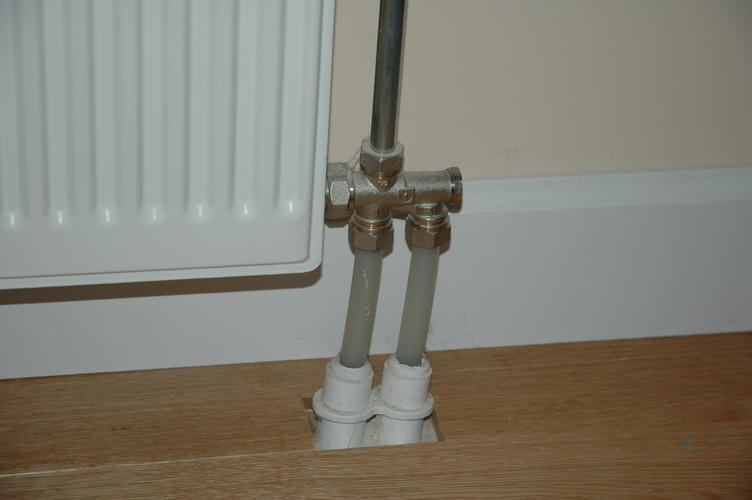 radiator omdraaien