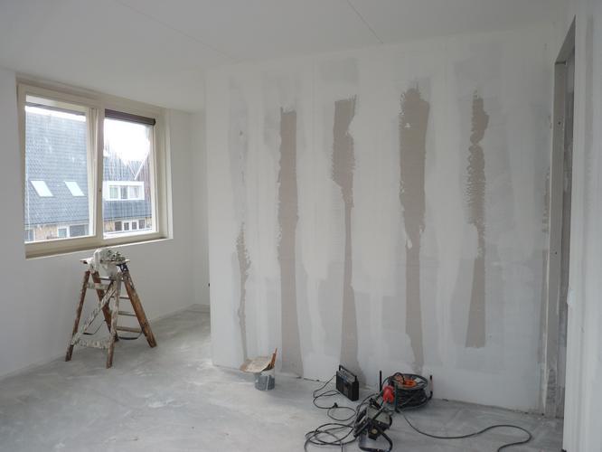 Nieuwbouw muren sausklaar maken werkspot for Wanden nieuwbouwwoning afwerken