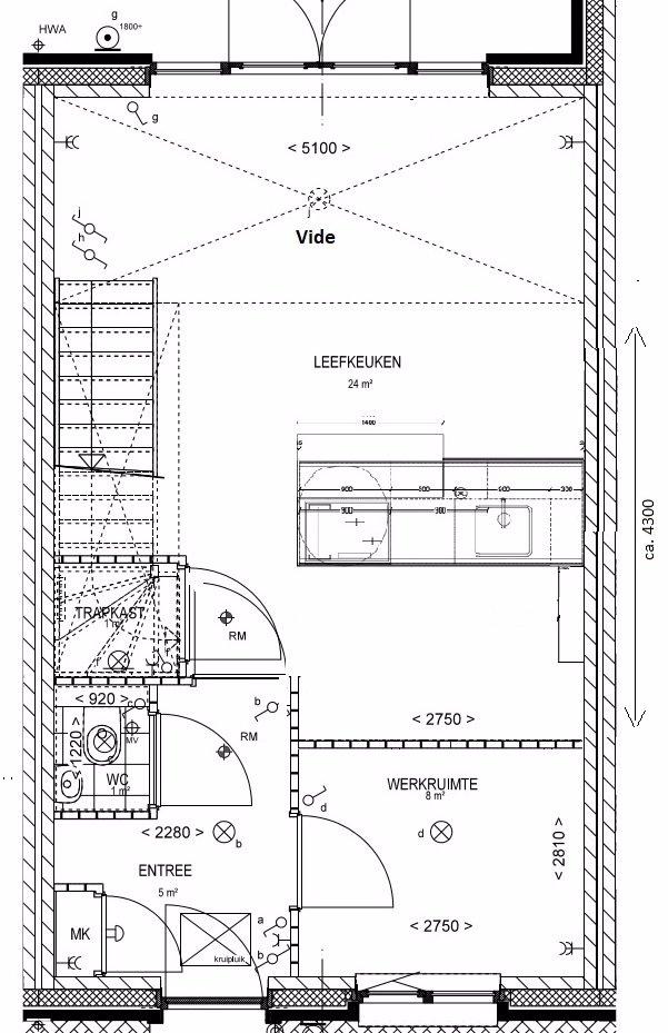 Verlaagd plafond & inbouw nissen nieuwbouw woning - Werkspot