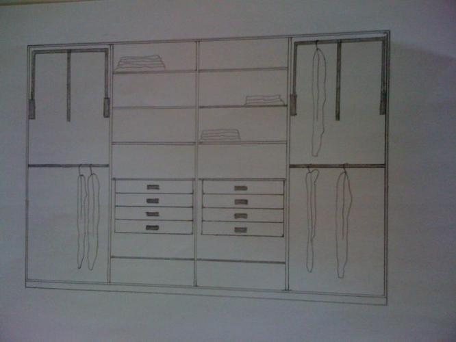 Boekenkast en garderobekast op maat werkspot