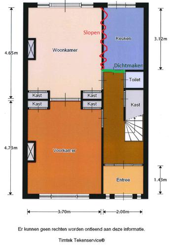 Draagmuur tussen keuken en eetkamer verwijderen in jaren 30 woning werkspot - Opening tussen keuken en eetkamer ...