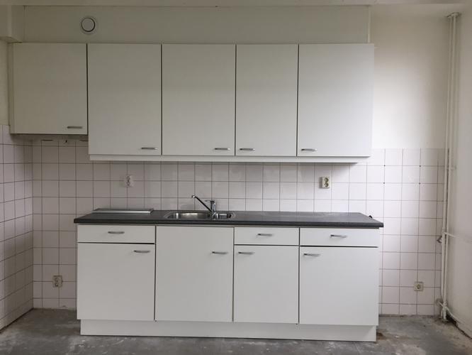 Te maken simpele bar voor keuken met werkblad aan de for Simpele keuken