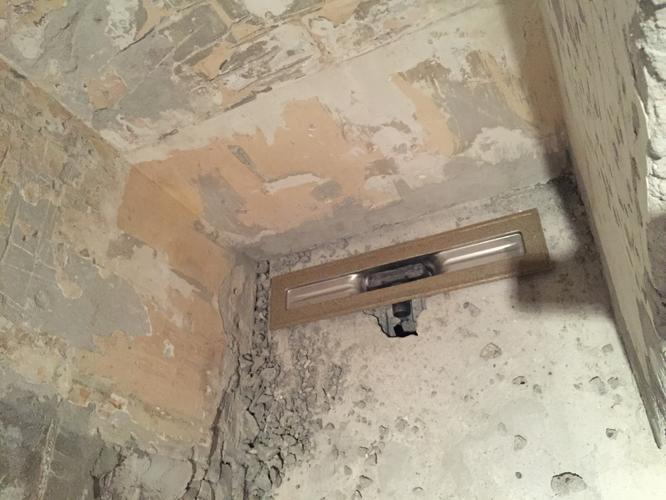 Inloopdouche Vloer Maken : Afschot voor inloopdouche vloer m storten werkspot