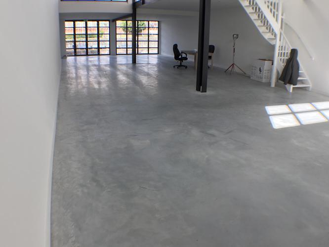 200m2 Betonvloer Verven Met Beton Verf Geen Epoxy Etc