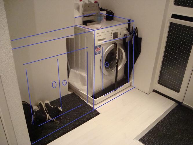 Kast Voor Wasmachine : Wasmachine kast karwei osb in interieur homease