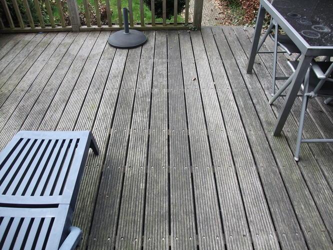 composiet vlonder veranda aanleggen werkspot. Black Bedroom Furniture Sets. Home Design Ideas