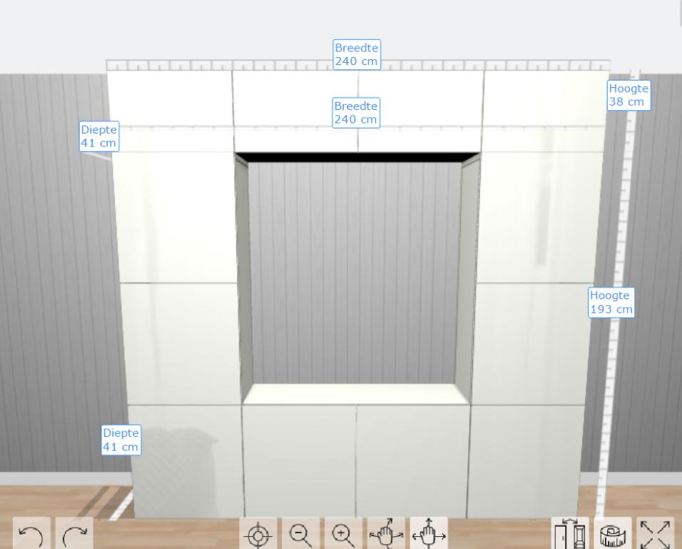 monteren ikea besta kast 240cm breed bij 230cm hoog werkspot. Black Bedroom Furniture Sets. Home Design Ideas