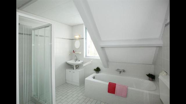 badkamer tegelen, leidingwerk, muurtje bouwen, toilet plaatsen, bad ...
