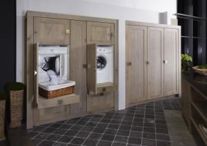 Emejing Wasmachine In Badkamer Wegwerken Pictures - Amazing Ideas ...