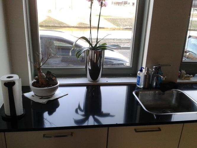 Waterafstotende Verf Keuken : Tegelen achterwand keuken of afwerking met waterafstotende verf